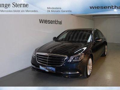 gebraucht Mercedes S400 D 4MATIC LANG Schnaeppchen