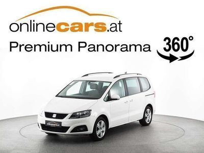 used Seat Alhambra 2,0 TDI DSG NAVI R-KAMERA WINTERPAKET Kombi / Family Van,
