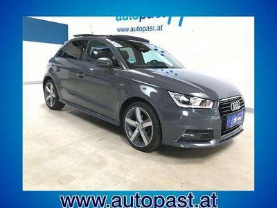 gebraucht Audi A1 Sportback 1,4 TDI + S-Line+Pano+17`Alu+ Teilleder+++