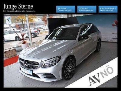 gebraucht Mercedes C200 4MATIC T 360° Night Allrad LED Navi Kamera A