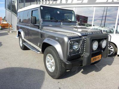 gebraucht Land Rover Defender 110 Station Wagon E 2,4 TD LKW 1.Beitz Unfallfrei NUR 38.000 KM SUV / Geländewagen,