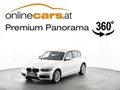 used BMW 118 1er-Reihe d Sport Line Limousine,