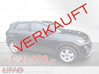 gebraucht VW T-Cross - 1,0 TSI Style *ab € 21.990,-*
