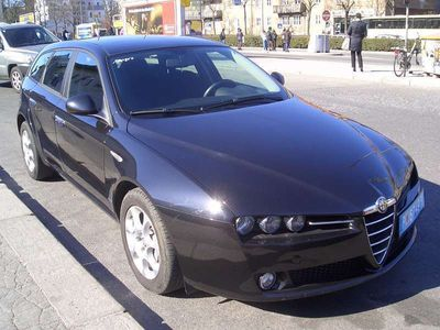 gebraucht Alfa Romeo 159 JTDM 2,0 Sportwagon Kombi / Family Van