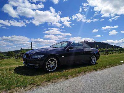 gebraucht BMW 320 Cabriolet 3er-Reihe d Cabrio Österreich-Paket Aut. / Roadster