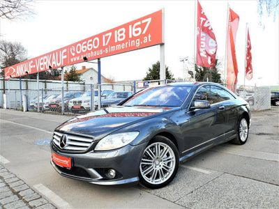 gebraucht Mercedes CL500 4Matic AMG Aut.*DISTRONIC*Navi*Kamera*Vollleder