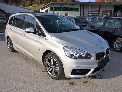 """gebraucht BMW 218 Gran Tourer 2er-Reihe d xDrive Sport Line/17""""Alu/AHV/Navi/1.Besitz Kombi / Family Van,"""