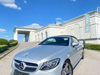 gebraucht Mercedes C180 Cabrio AMG Paket Cabrio / Roadster