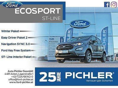 gebraucht Ford Ecosport ST-Line 1,0 Ecoboost 125PS WOW AKTION SUV / Geländewagen,