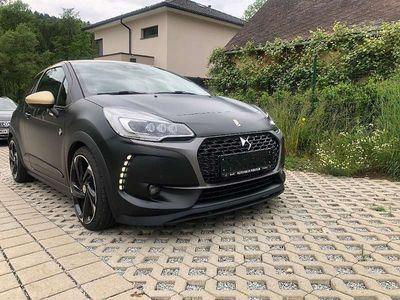 gebraucht DS Automobiles DS3 DS 3Performance Black Edition mit 2 Jahre Garantie Sportwagen / Coupé