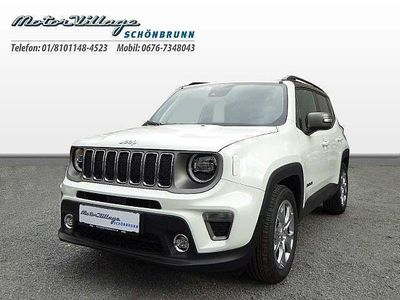 brugt Jeep Renegade 1,0 MultiAir T3 FWD 6MT 120 Limited Limited