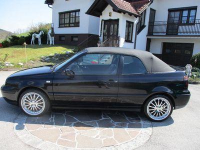 usata VW Golf Cabriolet Cabrio Trendline TDI E-Verdeck Leder Serviceh