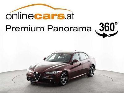 gebraucht Alfa Romeo Giulia Super 2,2 Aut. NAVI ASSISTENZ TEMP MEGAP... Limousine
