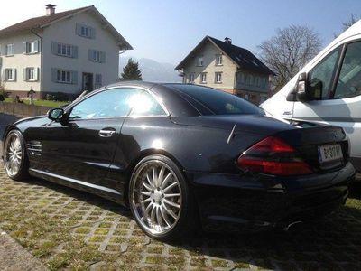 """gebraucht Mercedes SL500 20 """" Breyten, wenig KM"""