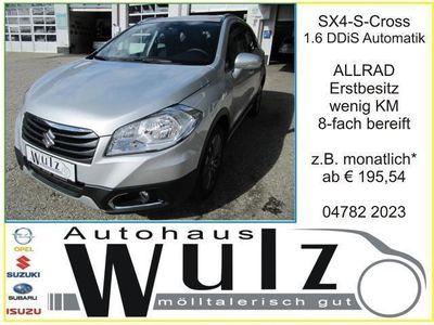 brugt Suzuki SX4 S-Cross 1,6 DDiS Allgrip shine TCSS Aut. SUV / Geländewagen,
