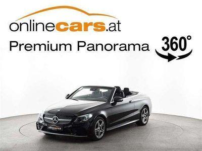gebraucht Mercedes C180 Cabriolet Aut. AMG NAVI LED R-KAMERA ASSISTENZ