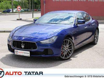 gebraucht Maserati Ghibli Diesel | 399,- mtl. | Navi | Kamera |