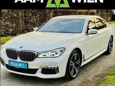 gebraucht BMW 740L 7er-Reihe d G12 xDrive M-Paket Navi Laser Massage Display-Key Kamera Harman Kardon...