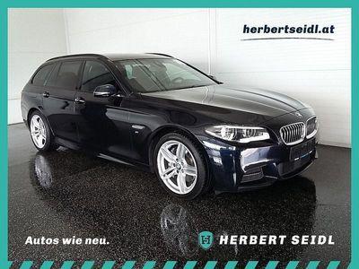 gebraucht BMW 218 5er Touring 525d xDrive Touring Aut. *M-SPORT / ACC / LED*,PS, 5 Türen, Automatik