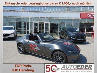 "gebraucht Mazda MX5 RF G184 Revolution ""Leder braun"" Cabrio / Roadster"