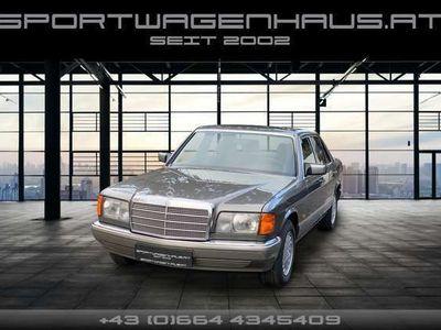 gebraucht Mercedes 300 300SE Schalter, Klima, ESD, Velours, Serviceheft!