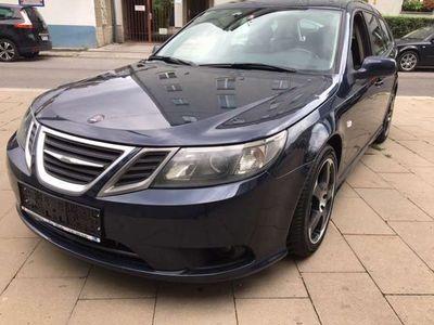 gebraucht Saab 9-3 Linear Sport-Kombi EcoPower 1,9 TiDS M6 Kombi / Family Van,