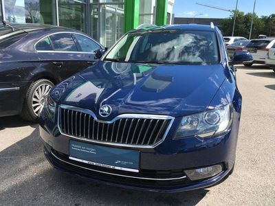 gebraucht Skoda Superb Combi Ambition Business TDI DSG