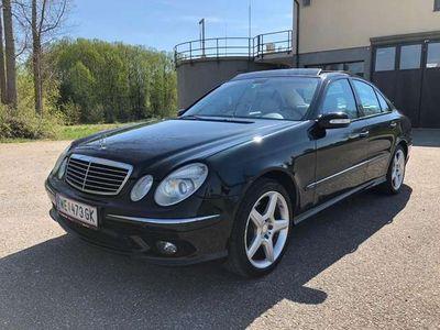 gebraucht Mercedes E500 Avantgarde Aut. Amg Paket ab Werk, Panoramadach...