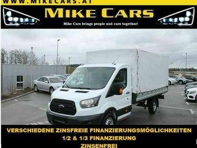 gebraucht Ford Transit 350 L4 Pritsche/Plane, Klima, Berganfahrhilfe