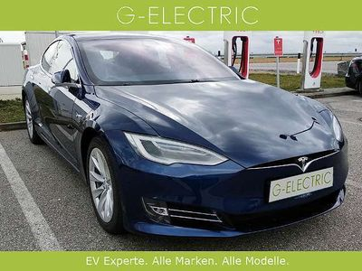 gebraucht Tesla Model S 75D, VSt. Abzug, Allrad, Panoramadach, Luftfahrwerk Limousine