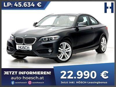 gebraucht BMW 218 d Coupe Sport Line Aut. LP:45.634,- /mtl.157.-*