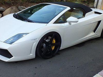 gebraucht Lamborghini Gallardo LP-560 Spyder F1 20 Zoll Lift KW Gewinde