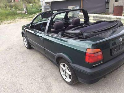 gebraucht VW Golf Cabriolet 1.8 rabbit cabrio / Roadster,