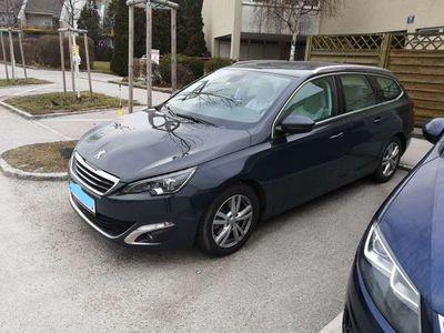 "brugt Peugeot 308 SW 2,0 BlueHDi 150 Allure 17"" Felgen Aut."
