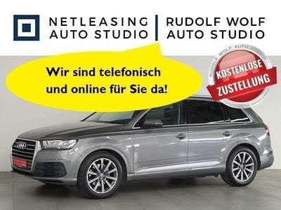 gebraucht Audi Q7 3.0 TDI S line LED NAVI PLUS PANORAMA AHK ISOFIX