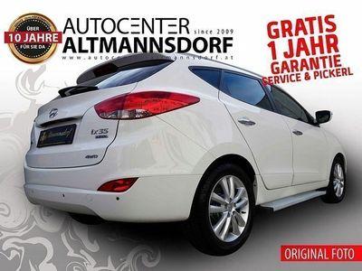 brugt Hyundai ix35 2,0 CRDi Aut.GRATIS 1JAHR GARANTIE*SOFORT-KREDIT*MOD201