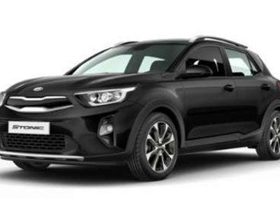 gebraucht Kia Stonic 1,25 MPI ISG Silber SUV / Geländewagen