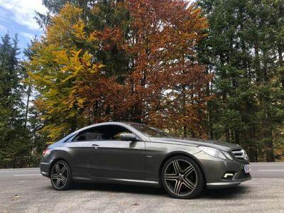 gebraucht Mercedes E350 CDI DPF Coupe BlueEFFICIENCY 7G-TRONIC Avantgarde