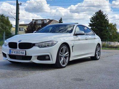 gebraucht BMW 430 4er-Reihe d Grand Coupe **Sahne Stück** Sportwagen / Coupé