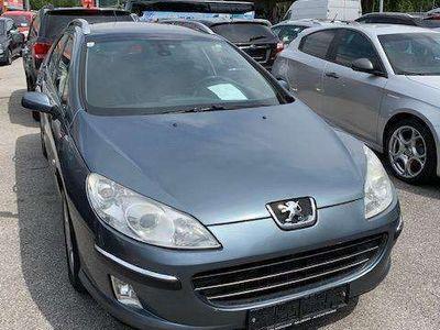 gebraucht Peugeot 407 SW Premium 2,0 HDI 136 (FAP) Kombi / Family Van,