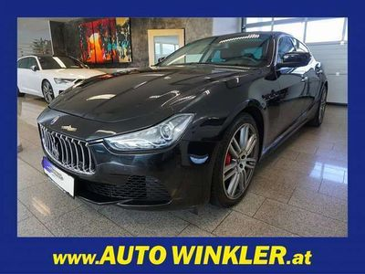 gebraucht Maserati Ghibli Diesel Leder/Navi, 275 PS, 4 Türen, Automatik