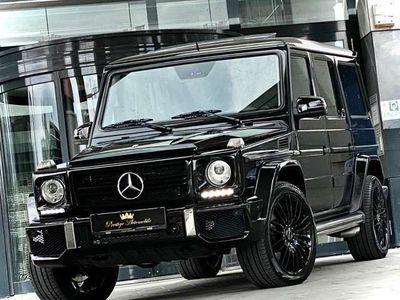 gebraucht Mercedes G55 AMG AMG G 63 AMG V8 KOMPRESSOR 500PS #DESIGNO #ALL BLACK
