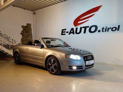 gebraucht Audi A4 Cabriolet 3,0TDI V6 QUATTRO *S-LINE *VOLLAUSSTATT