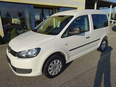 gebraucht VW Caddy Kombi Startline 2,0 EcoFuel Erdgas - 1Besitz Servicebuch Kombi / Family Van