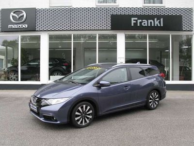 gebraucht Honda Civic Tourer 1,6i-DTEC Lifestyle Kombi / Family Van