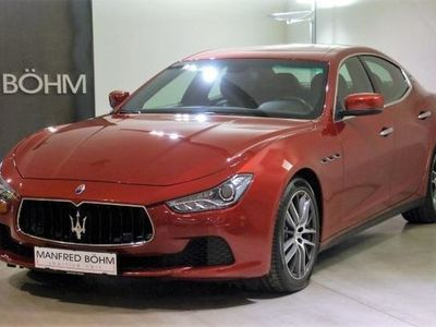 gebraucht Maserati Ghibli 3.0 V6 Diesel !! Sonderfarbe !!