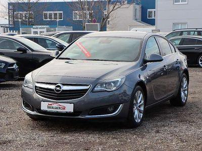 gebraucht Opel Insignia Edition A Lim Aut. | 1.Besitz | AHK | Navi | Leder
