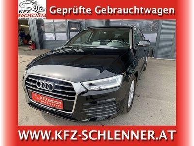 gebraucht Audi Q3 2,0 TDI Sport quattro S-tronic/Navi/LED