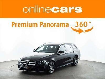 gebraucht Mercedes E220 E-KlasseT Aut. AMG NAVI LED R-KAMERA LEDER ASSIST Kombi / Family Van