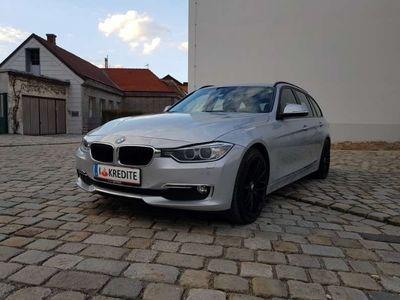 gebraucht BMW 318 3er-Reihe d Touring F31 Österreich-Paket Aut. Kombi / Family Van,